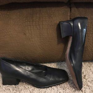 Nickels Black Pumps Heels Size 6.5 VGC
